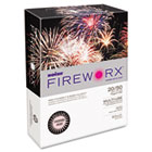 FIREWORX Colored Paper, 20lb, 8-1/2 x 11, Powder Pink, 500 Sheets/Ream CASMP2201PK