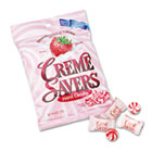 Strawberry Créme Savers Hard Candy, 6oz Pack CME08393