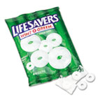Hard Candy, Wint-O-Green, Individually Wrapped, 6.25oz Bag LFS88504