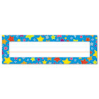 "Desk Nameplates, Stars, 9 1/2"" x 3"", 36/Set CDP122013"