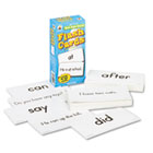 Flash Cards, Basic Sight Words, 3w x 6h, 102/Pack CDPCD3910
