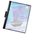 ReportPro SlideGrip Report Cover, Letter, 30-Sheet Capacity, Black CRD2203BLA