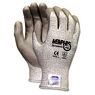 Memphis Dyneema Polyurethane Gloves, Medium, White/Gray, Pair CRW9672M