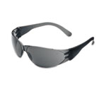 Checklite Scratch-Resistant Safety Glasses, Gray Lens CRWCL112