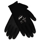 Ninja HPT PVC coated Nylon Gloves, Large, Black, Pair CRWN9699L