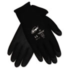 Ninja HPT PVC coated Nylon Gloves, Small, Black, Pair CRWN9699S
