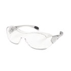 Law Over the Glasses Safety Glasses, Clear Anti-Fog Lens CRWOG110AF