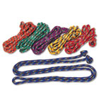 Braided Nylon Jump Ropes, 8ft, 6 Assorted-Color Jump Ropes/Set CSICR8SET