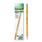 Oriole Woodcase Pencil, F #2.5, Yellow Barrel, 12/Pack DIX12875