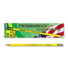 Woodcase Pencil, 2H #4, Yellow Barrel, Dozen DIX13884