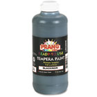 Ready-to-Use Tempera Paint, Black, 16 oz DIX21608