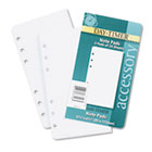 Lined Note Pads for Organizer, 3-3/4 x 6-3/4, 48 Sheets/Pack DTM87128