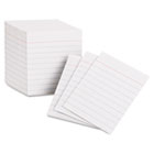 Ruled Mini Index Cards, 3 x 2 1/2, White, 200/Pack ESS10009