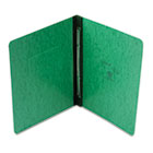 "Pressboard Report Cover, 2 Prong Fastner, Letter, 3"" Capacity, Dark Green ESS12917"