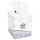 Premium Facial Tissue, White, Cube Box, 96 Sheets/Box GEP46580BX