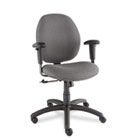Graham Series Pneumatic Ergo-Tilter Swivel/Tilt Chair, Graphite Fabric GLB31443NBKS111