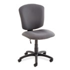 Supra X Series Medium-Back Task Chair, Stone Upholstery Fabric GLB53376BKPB04