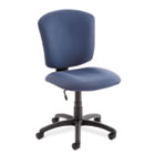 Supra X Series Medium-Back Task Chair, Ocean Upholstery Fabric GLB53376BKPB08