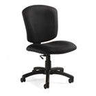 Supra X Series Medium-Back Task Chair, Asphalt Upholstery Fabric GLB53376BKPB09