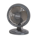 "Lil' Blizzard 7"" Two-Speed Oscillating Personal Table Fan, Plastic, Black HLSHAOF87BLZUC"