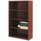 10500 Series Laminate Bookcase, Four-Shelf, 36w x 13-1/8d x 57-1/8h, Mahogany HON105534NN