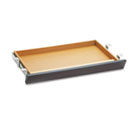 Laminate Angled Center Drawer, 26w x 15-3/8d x 2-1/2h, Mahogany HON1526N