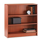 1890 Series Bookcase, Three-Shelf, 36w x 11-1/2d x 36-1/8h, Henna Cherry HON1892J