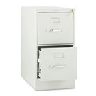 310 Series Two-Drawer, Full-Suspension File, Letter, 26-1/2d, Light Gray HON312PQ