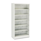 600 Series Steel Open Shelving, Six-Shelf, 36 x 16-3/4 x 75-7/8, Light Gray HON626CNQ