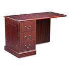 "94000 Series ""L"" Workstation Left Return, 48w x 24d x 29-1/2h, Mahogany HON94216LNN"