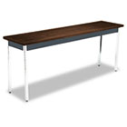 Utility Table, Rectangular, 72w x 18d x 29h, Columbian Walnut HONUTM1872ZPCHR