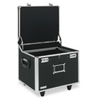 Lock Mobile File Chest Storage Box, Letter/Legal, Black IDEVZ01270