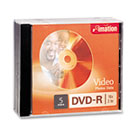 DVD-R Discs, 4.7GB, 16x, w/Jewel Cases, Silver, 5/Pack IMN17339