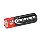 Alkaline Batteries, AA, 8 Batteries/Pack IVR11008