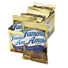 Famous Amos Cookies, Chocolate Chip, 2oz Snack Pack, 8/Box KEB98067