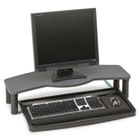 Comfort Desktop Keyboard Drawer With SmartFit, 26w x 13-1/2d, Black/Gray KMW60006
