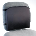 "Memory Foam Backrest, 16""w x 12""d x 16""h, Black KMW82025"