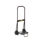 Ultra-Lite Folding Cart, 200lb Capacity, 11 x 13 1/4 Platform, Black KTKLGLC200