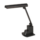 "Fluorescent Desk Lamp, Electronic Ballast, Folding Shade, 15-1/2""h, Black LEDL9014"