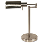 "Adjustable Full Spectrum Table Lamp, 16"" High, Brushed Steel LEDL9022"