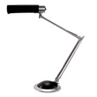 "Full Spectrum Cable Suspension Desk Lamp, 30-1/2"" High, Black/Silver LEDL9102"