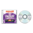 DVD+R Disc, 4.7GB, 16x, w/Jewel Case, Silver MAX639000
