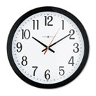 "Gallery Wall Clock, 16"", Black MIL625166"