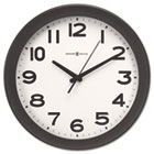"Kenwick Wall Clock, 13-1/2"", Black MIL625485"