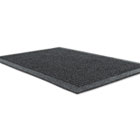 EcoGuard Indoor/Outdoor Wiper Mat, Rubber, 24 x 36, Charcoal MLLEG020304