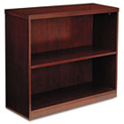 Luminary Series Veneer Two-Shelf Bookcase, 34-5/8w x 12d x 29h, Cherry MLNBC3629C