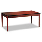 Luminary Series Wood Veneer Table Desk, 72w x 36d x 29h, Cherry MLNLTD72C
