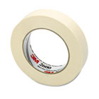 "Economy Masking Tape, 1"" x 60yds, 3"" Core, Cream MMM260024A"