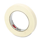 "Economy Masking Tape, 3/4"" x 60yds, 3"" Core, Cream MMM260018A"