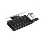 "Easy Adjust Keyboard Tray, Highly Adjustable Platform, 23"" Track, Black MMMAKT150LE"